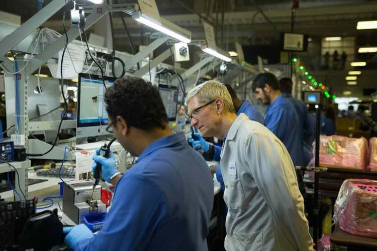 Tim Cook as a leader