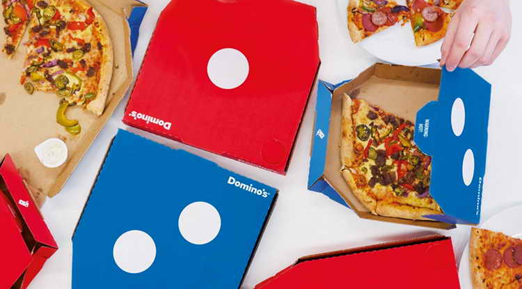 Domino' pizza turnaround