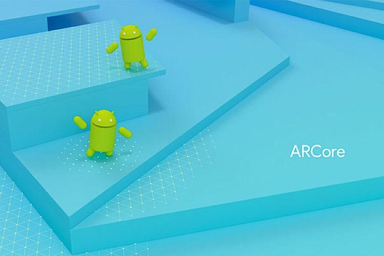گوگل با arcore واقعیت افزوده را به گوشی های اندرویدی اضافه می کند