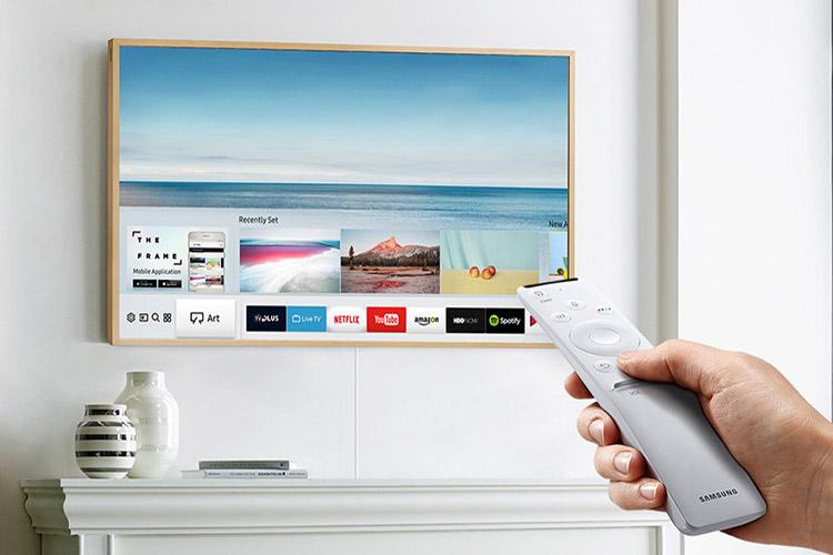 سامسونگ از تلویزیون ۴۳ اینچی سری frame tv رونمایی کرد