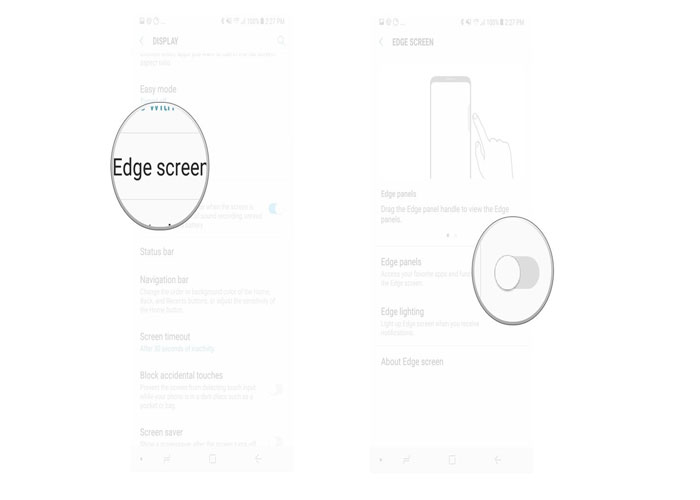 اج اسکرین | Edge screen