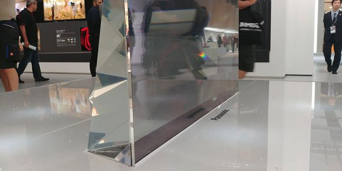 ifa 2017 panasonic glass tv