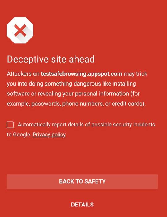جستجوی امن گوگل