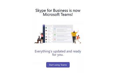 مایکروسافت رسما سرویس تجاری اسکایپ را به مایکروسافت تیمز ارتقاء میدهد