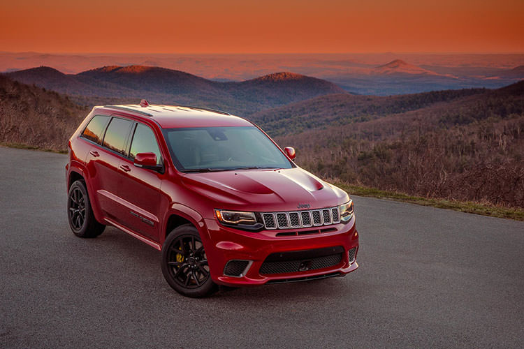 Jeep Grand Cherokee Trackhawk/ جیپ چروکی
