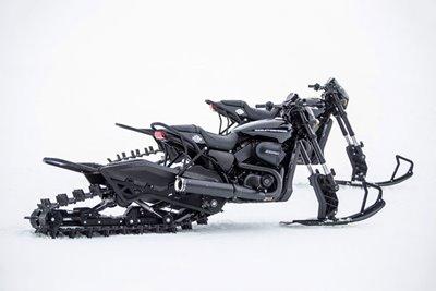 نسخهی برفی از موتورسیکلت هارلى ديويدسن معرفی شد