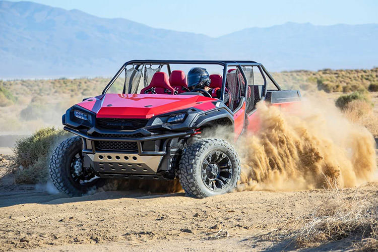 Honda Rugged Open Air Concept / وانت پیک‌آپ مفهومی هوندا راگید اپن ایر