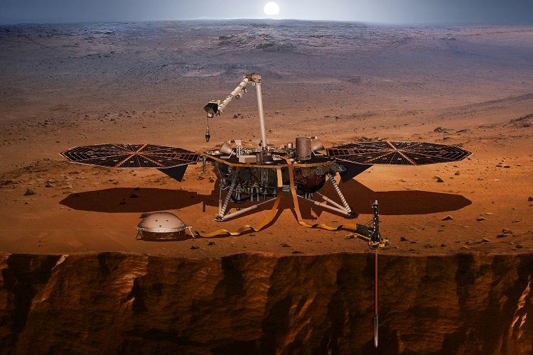کاوشگر اینسایت کمتر از یک ماه دیگر در مریخ فرود خواهد آمد