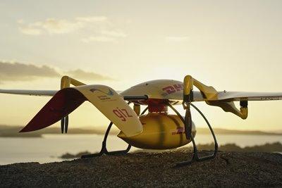 هواپیمای خودران DHL  پارسلکوپتر، با موفقیت آزمایش شد