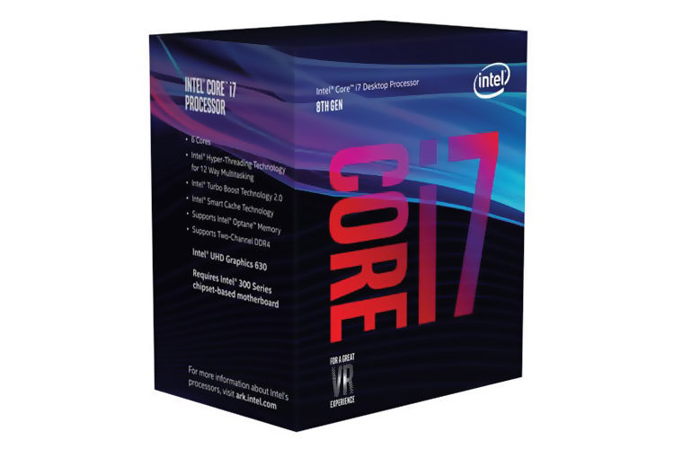 Intel Core i7 8th Gen / پردازنده کور i8 نسل هشتم