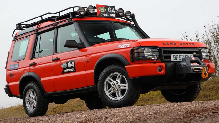 Land Rover Discovery G4 Challenge 2003