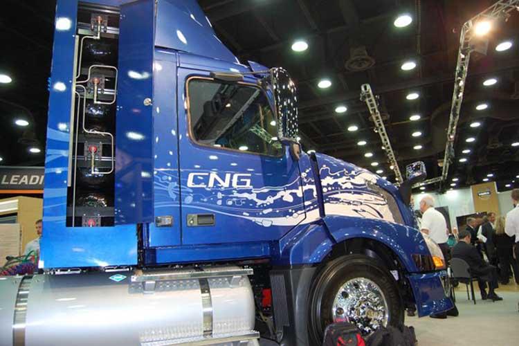 گازسوز خودروی سنگین کامیون CNG گاز