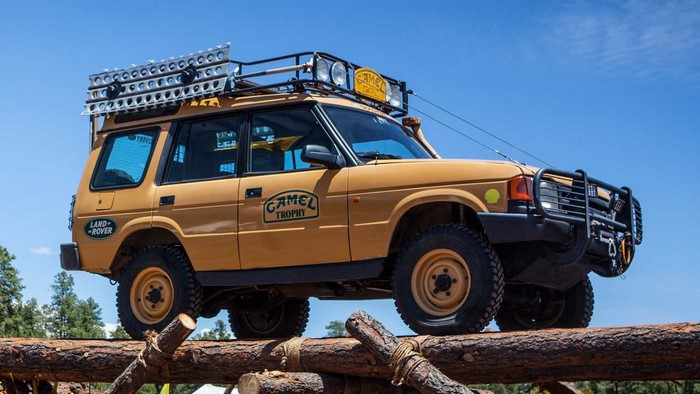 Land Rover Discovery Camel Trophy 91