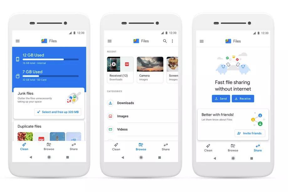 گوگل نام اپلیکیشن مدیریت فایل Files GO را تغییر خواهد داد
