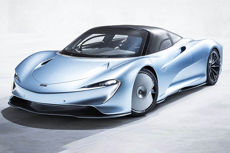 mclaren speedtail / مک‌لارن اسپیدتیل