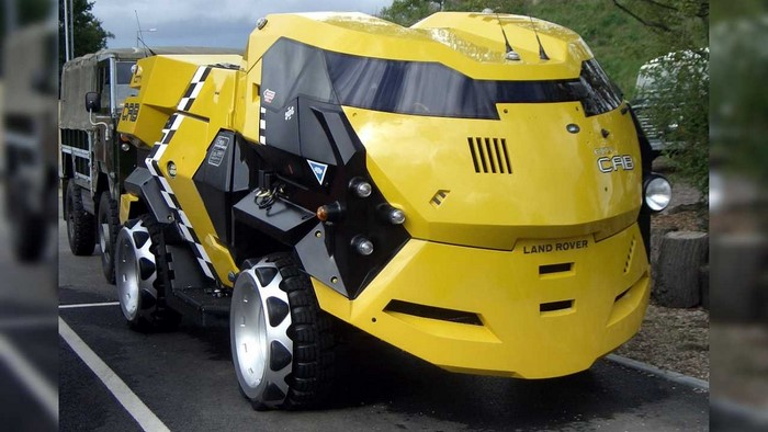Land Rover 101 FC Judge Dredd