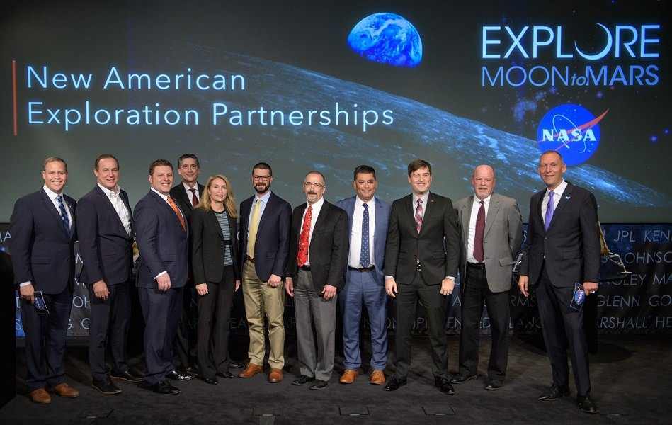 Nasa and 9 US Partners