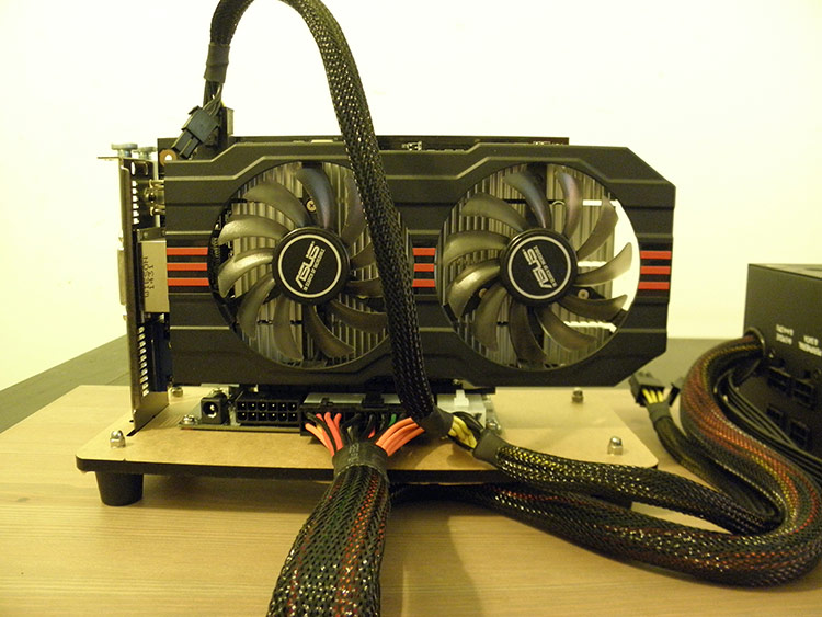 pcie board with graphic card