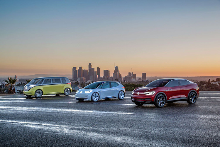volkswagen electric crossover/ کراس اور الکتریکی فولکس واگن