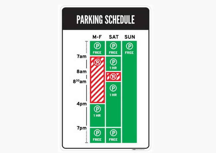 The Good: Nikki Sylianteng's Parking Sign