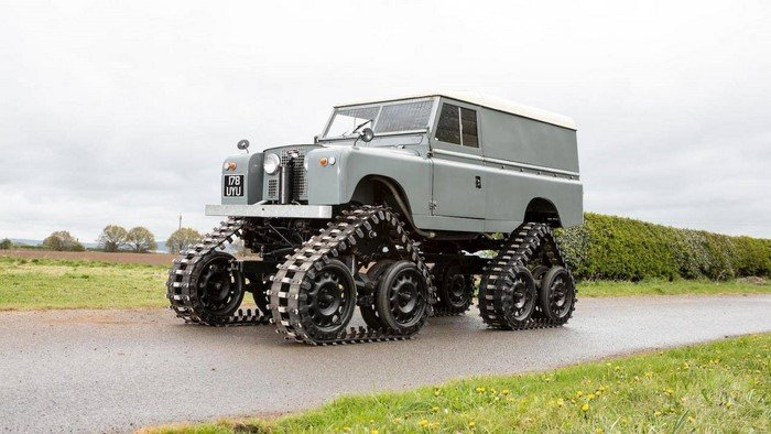 1958 Land Rover Cuthbertson