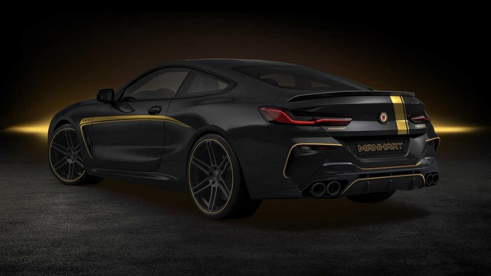2019 BMW 8 Series Coupe M850i by Manhart