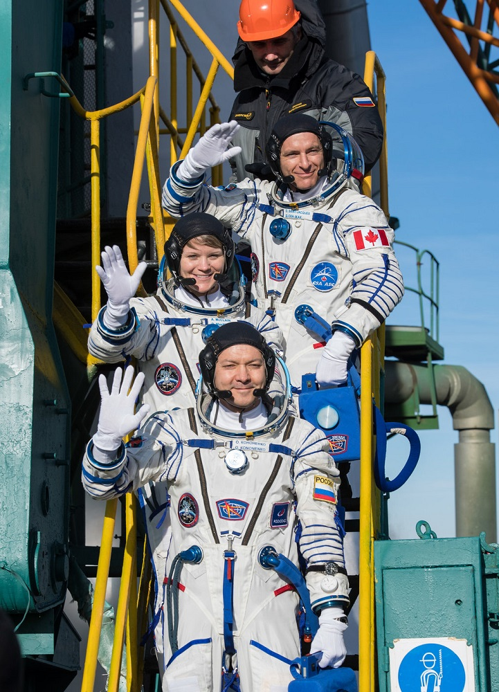 Expedition 58 Crew Members