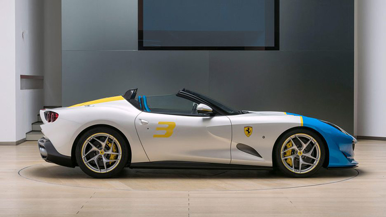 Ferrari SP3JC convertible / فراری SP3JC کانورتیبل