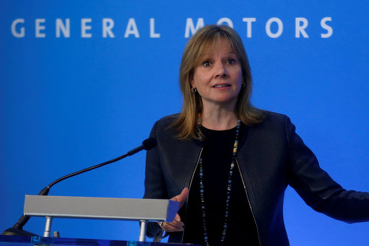 General Motors Mary Barra / مری بارا جنرال موتورز