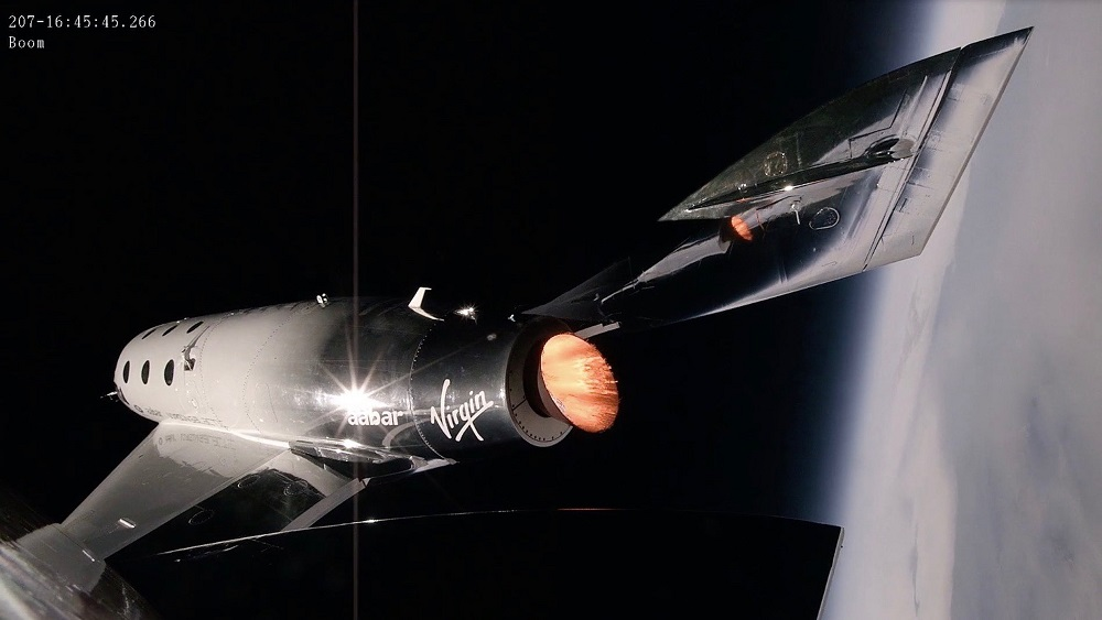 Virgin Galactic's spaceplane