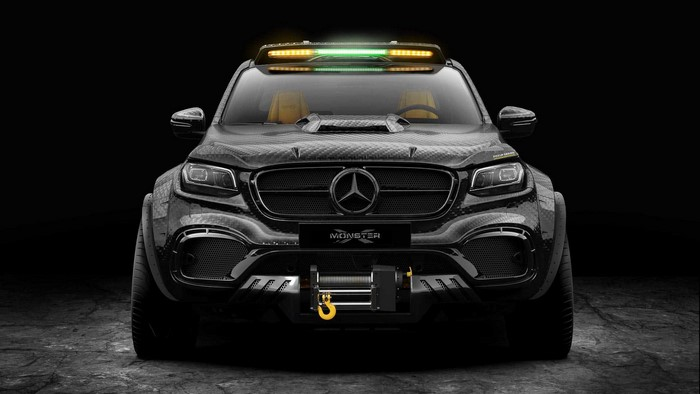 Pickup Design Exy Monster X Concept Mercedes-Benz X-Class