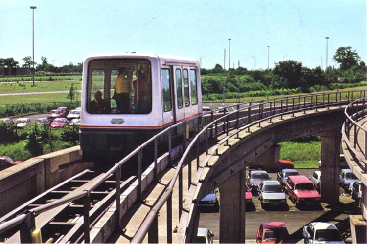 قطار مگلو بیرمنگام / Birmingham Maglev Train