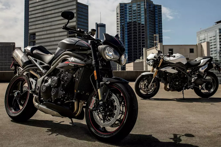 تریومف اسپید تریپل 2018 / Triumph Speed Triple S & RS