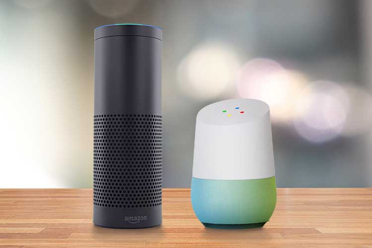 Google Home Amazon Echo