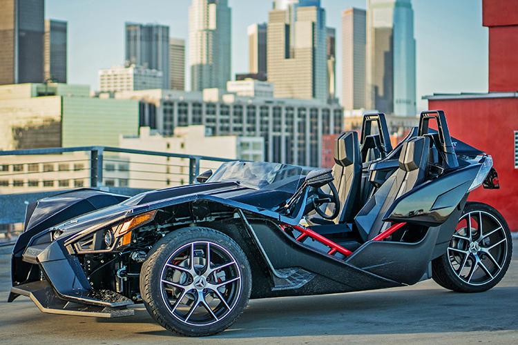 مدل جدید از خودروی سه چرخ اسلینگ شات، رونمایی شد
