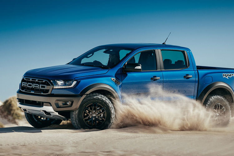 ford Ranger Raptor pickup / وانت پیک‌آپ فورد رنجر رپتور 2018