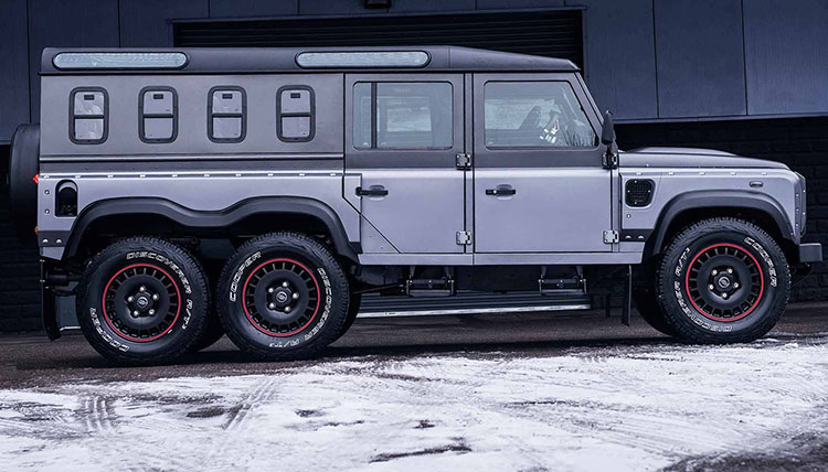 Land Rover Defender 6by6 / لندرور دیفندر 6 چرخ