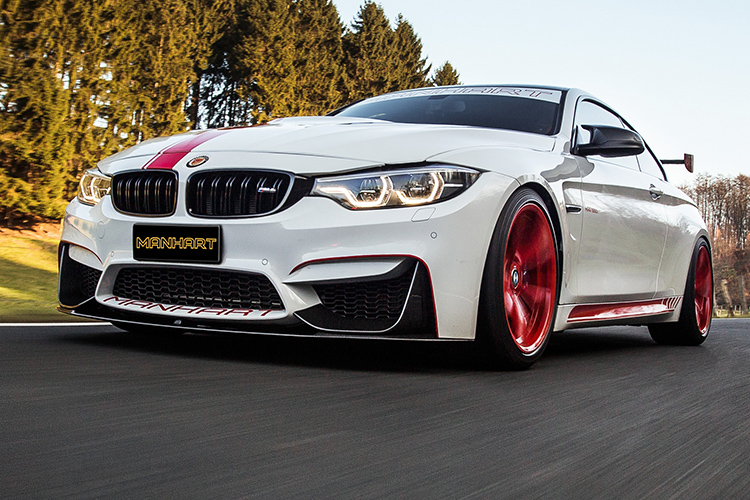 BMW M4 Manhart Racing MH4 550