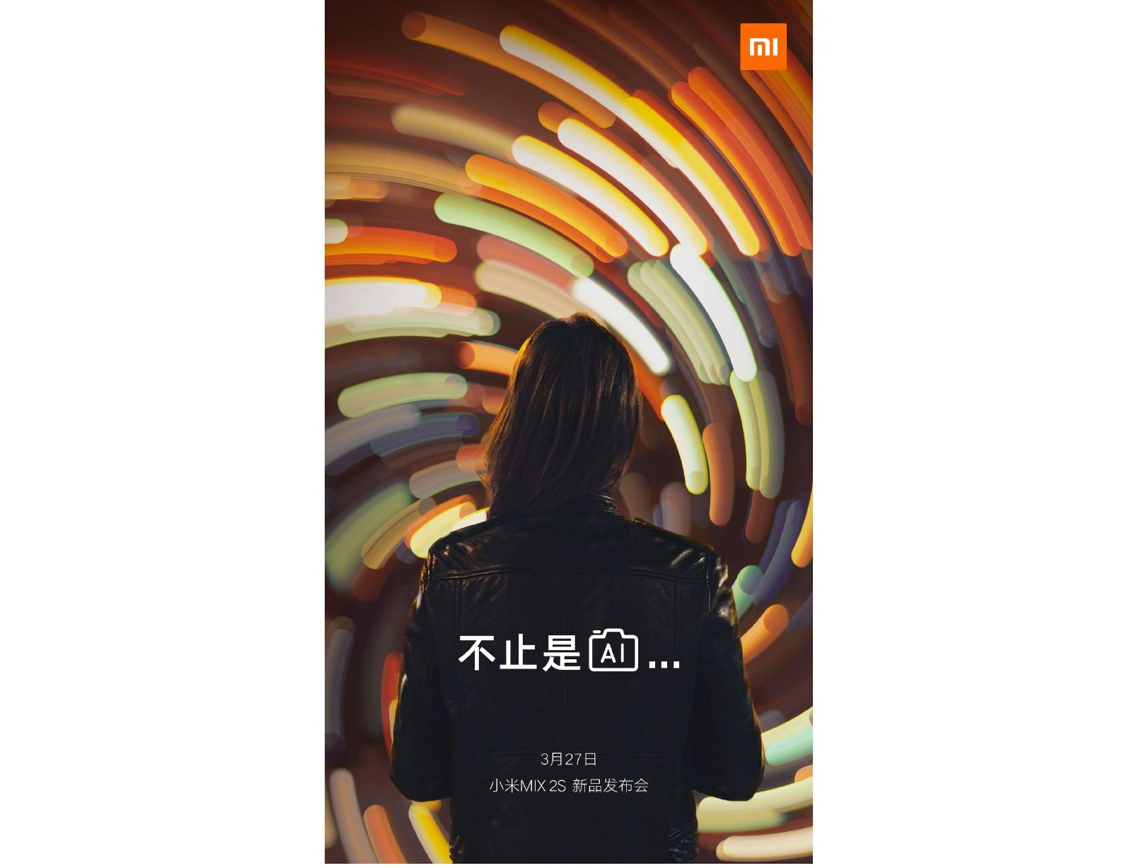 Xiaomi Mi Mix 2S First Teaser