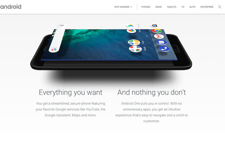 اندروید وان/Android one