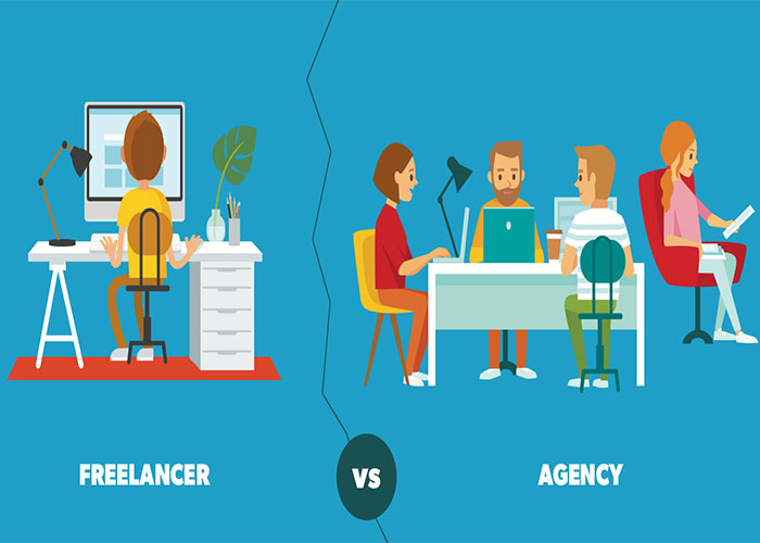 freelancer vs businessman