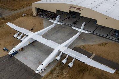 بلندپروازیهای فرازمینی سازندگان بزرگترین هواپیمای دنیا