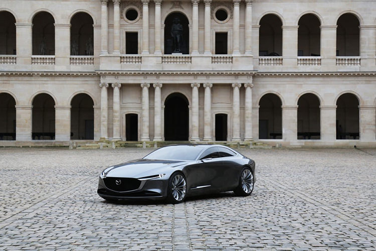 Mazda Vision Coupe / خودروی مفهومی مزدا ویژن کوپه