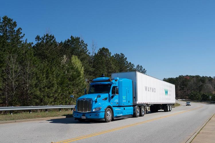 Waymo self-driving truck google / کامیون خودران ویمو گوگل