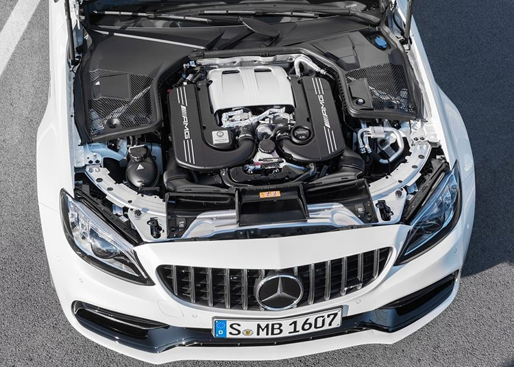 Mercedes-Benz C63 S AMG Coupe