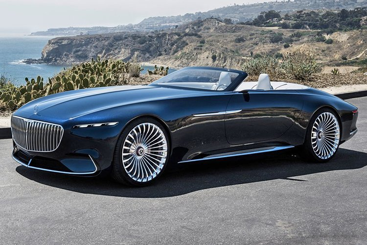 Mercedes-Benz Vision Maybach 6 Cabriolet