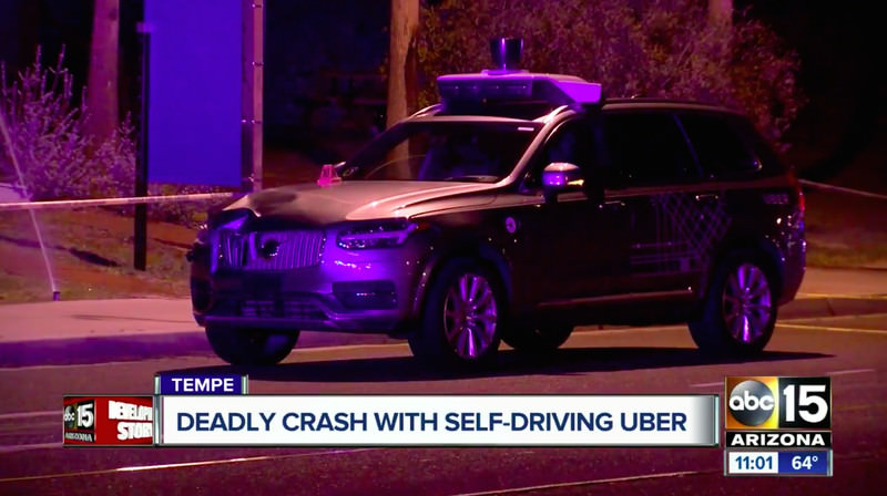 Uber self-driving SUV