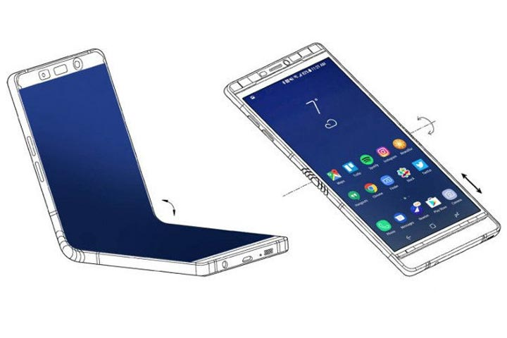 foldable galaxy X/ گلکسی ایکس تاشو