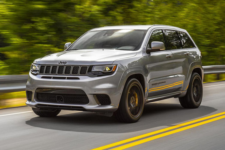 Jeep Grand Cherokee Trackhawk / شاسی‌بلند جیپ گرند چروکی ترک‌هاوک