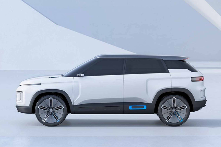 Geely Concept Icon SUV / شاسی‌بلند مفهومی جیلی آیکون